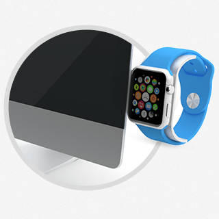 Apple Watch Stand for iMac Saat