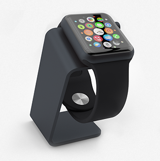 Saat Stand Black for Apple Watch